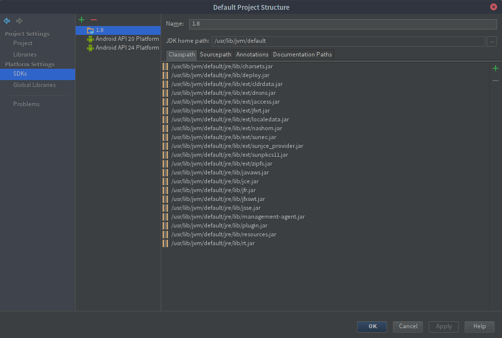 IntelliJ IDEA Default Project Structure