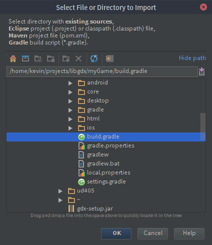 IntelliJ IDEA Import
